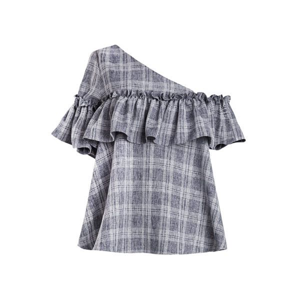 resized_new-revival-grid-ruffled-one-shoulder-top-600x600