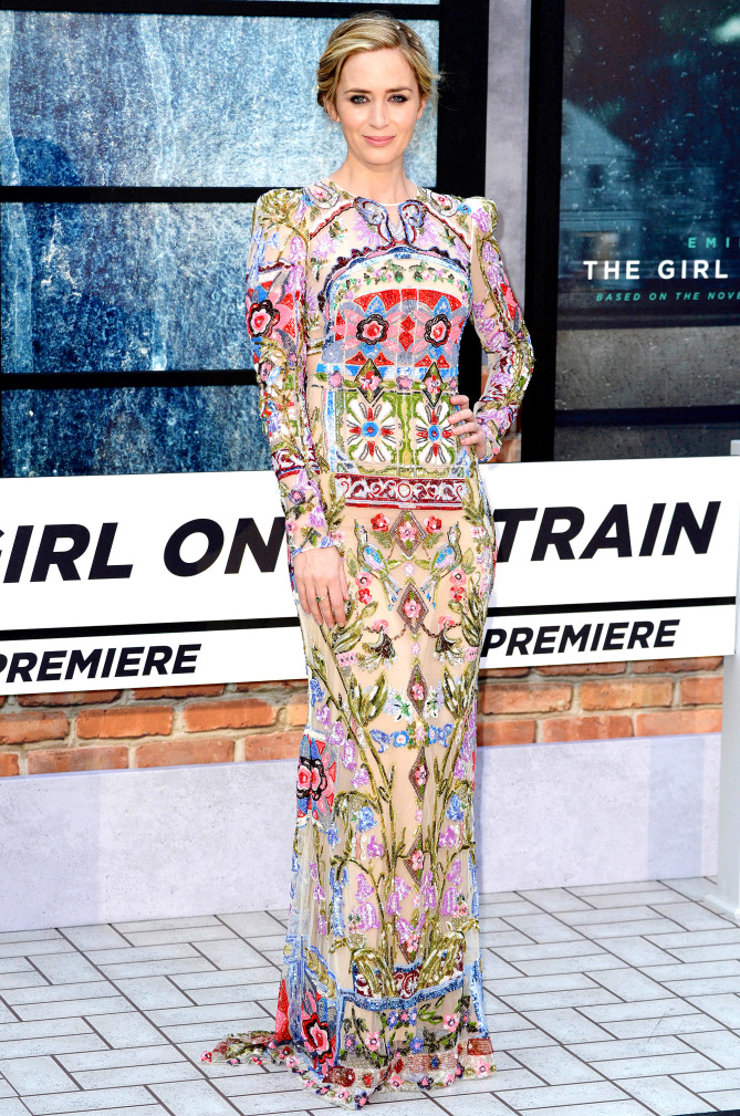 World Premiere of The Girl On The Train at Leicester Square in London