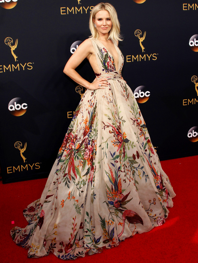 Celebrity arrivals at the 68th Primetime Emmy Awards in Los Angeles