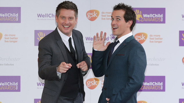 Dick and Dom also put in an appearance