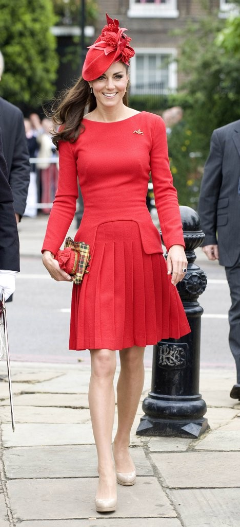kate-pleated-red-dress-alexander-mcqueen