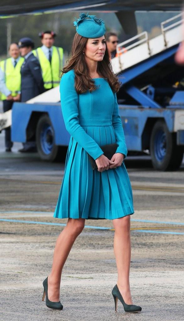 kate-turquoise-emilia-wickstead-look