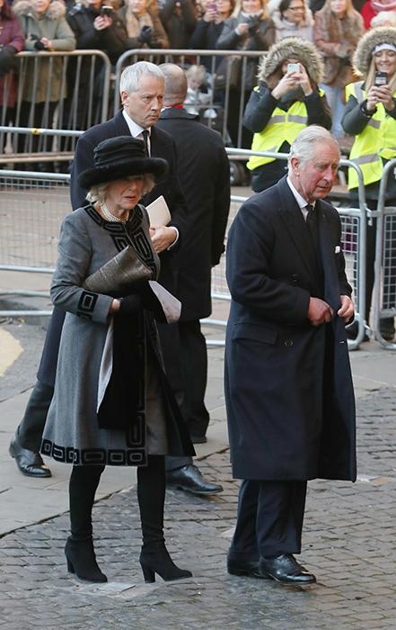 الأمير تشارلز  وزوجته كاميلا