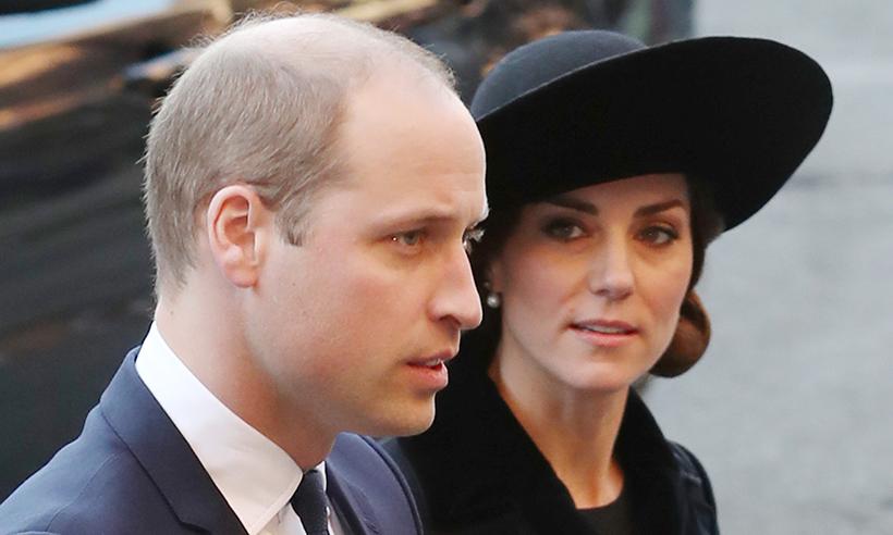 الأمير وليام وزوجته كيت ميدلتون