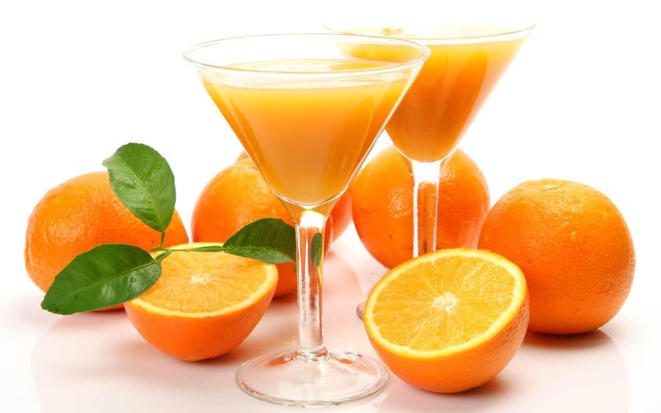 البرتقال مع الصودا