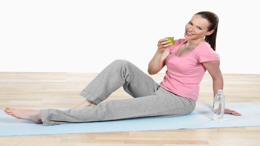 الحرمان من تناول الطعام قبل التمرين