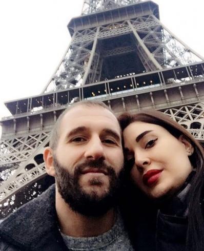 سيرين بصورة رومانسية مع زوجها