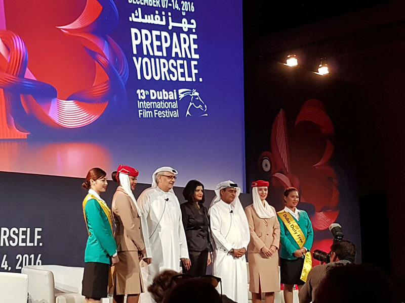 الآنسة سلون تفتتح مهرجان دبي السينمائي