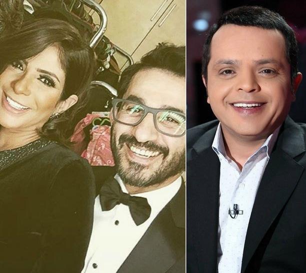 محمد هنيدي ومنى زكي واحمد حلمي