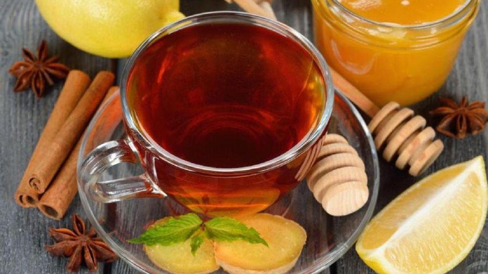 شاي القرنفل بالليمون