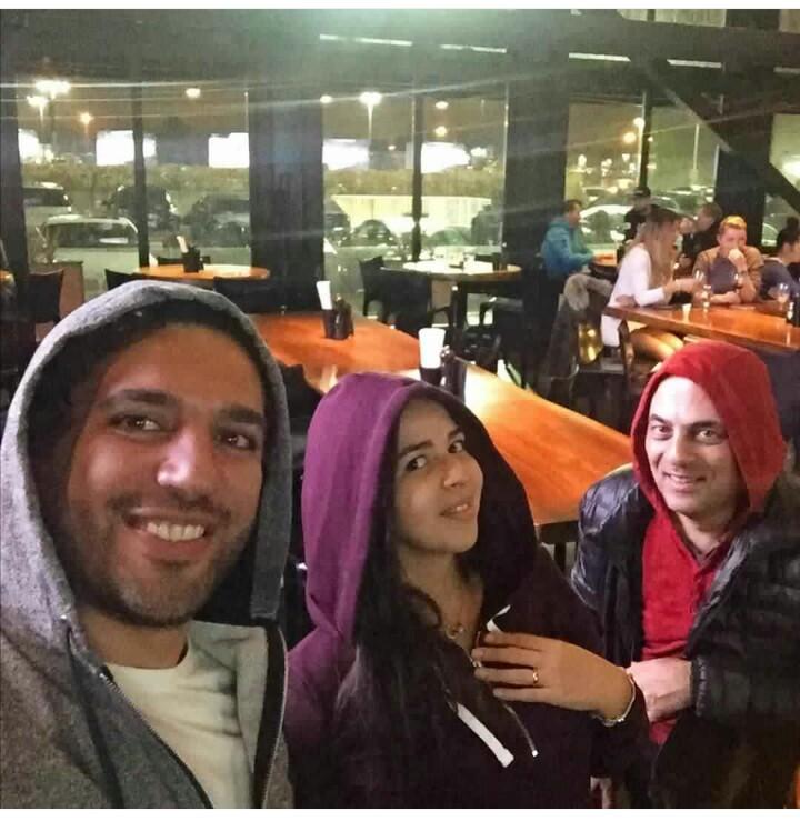 أخر صورة من شهر عسل حسن الرداد و إيمي سمير غانم