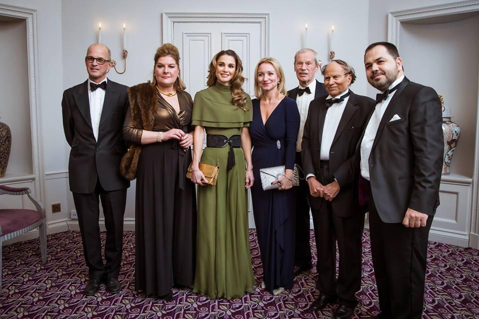 الملكة رانيا هي أول من يتسلم هذه الجائزة