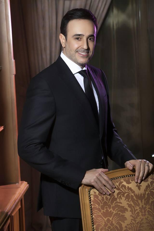 صابر الرباعى يحتفل برأس السنة في لبنان