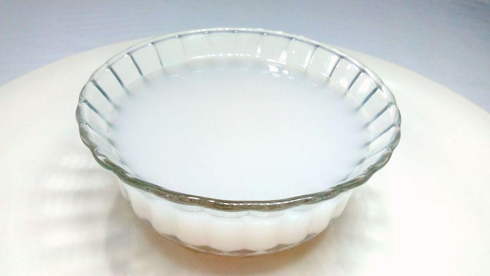 ماء الأرز يمنع شيب الشعر