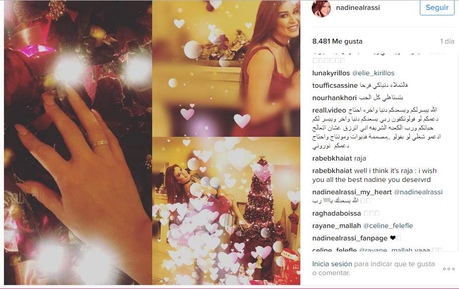 نادين الراسي تعلن خطبتها بعد أسابيع من الطلاق