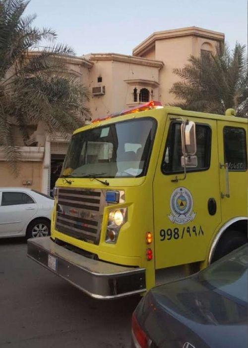 الدفاع المدني تمكنوا من إخماد الحريق
