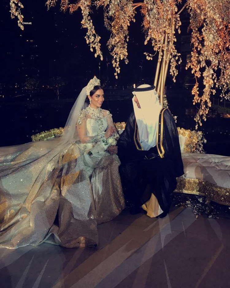 بلقيس تتعرض لموقف محرج في حفل زفافها