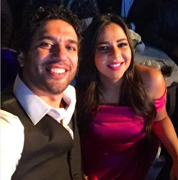 حسن الرداد مع زوجته ايمي سمير غانم