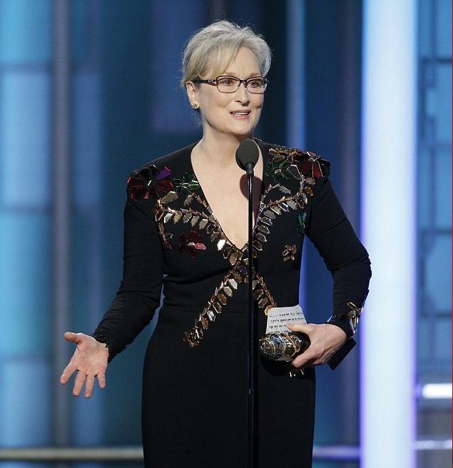 ميريل ستريب فازت بجائزة الأوسكار ثلاثة مرات