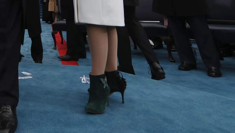 Aruna Seth تعلق على ارتداء تيفاني ترامب لأحذيتها