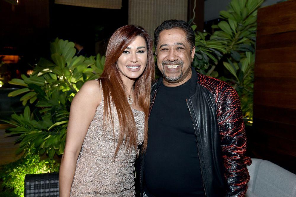 الشاب خالد مع  نادين الراسي