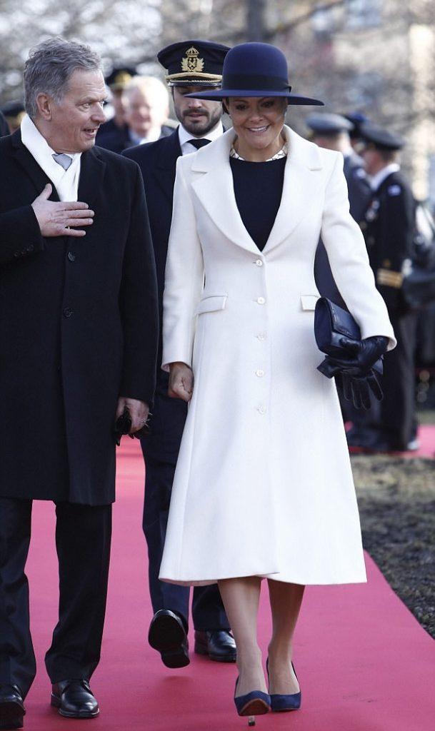الأميرة فيكتوريا عادت لممارسة مهامها