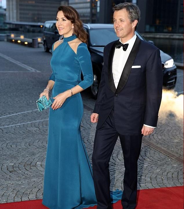 الأميرة ماري وزوجها الأمير فريدريك