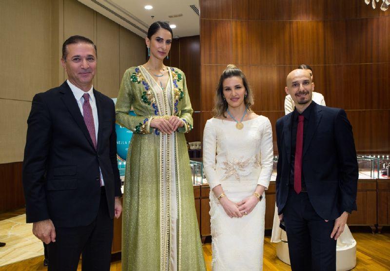 الأميرة نجلاء تساهم في تصميم 16 قطعة من المجوهرات المميزة