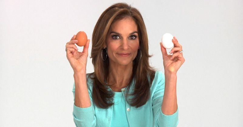 البيض يساعد على بناء الأظافر ومنحهم مظهر أكثر لمعانا