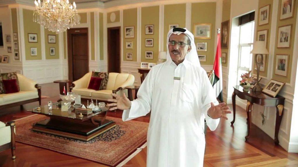 الملياردير الإماراتي خلف أحمد الحبتور