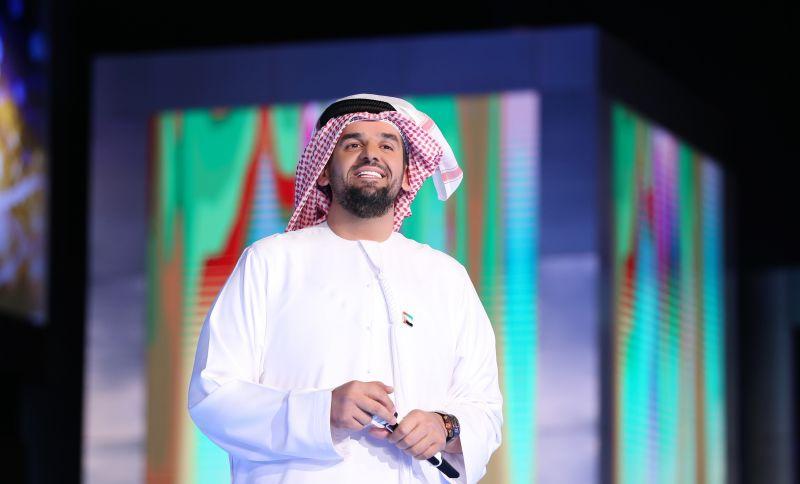 حسين الجسمي يختتم برنامج الميدان 2017