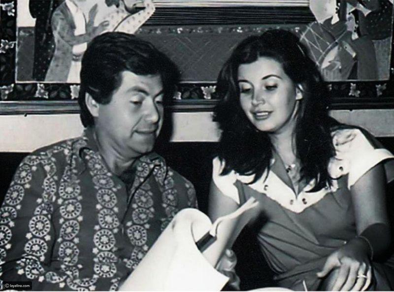 حسين فهمي وزوجته السابقة حسين فهمي