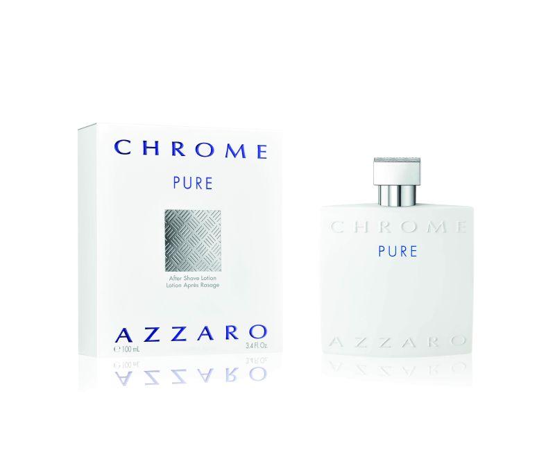 عطر Chrome Pure اللحظات الثمينة من التواصل والسعادة البحتة الغنية بالعاطفة