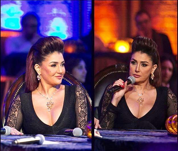 غادة عبدالرازق تتحدث عن صبغ شعرها باللون الفوشيا