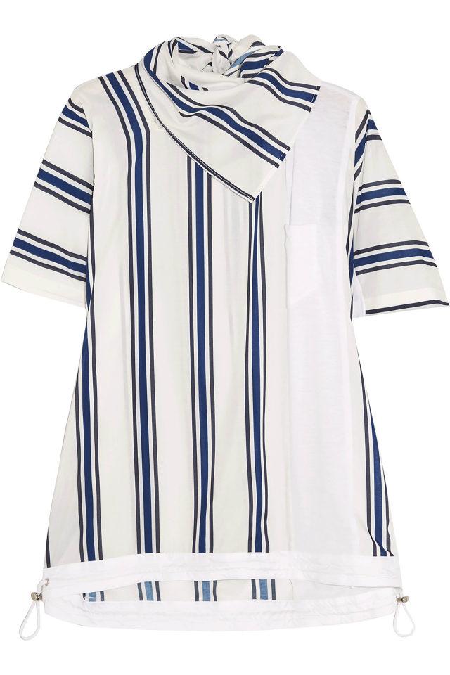 قميص مصمّم من قطن البوبلين