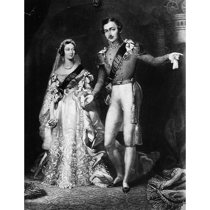 لأمير ألبرت يهدي زوجته بروش مذهل على شرف يوم زفافهما في عام 1840