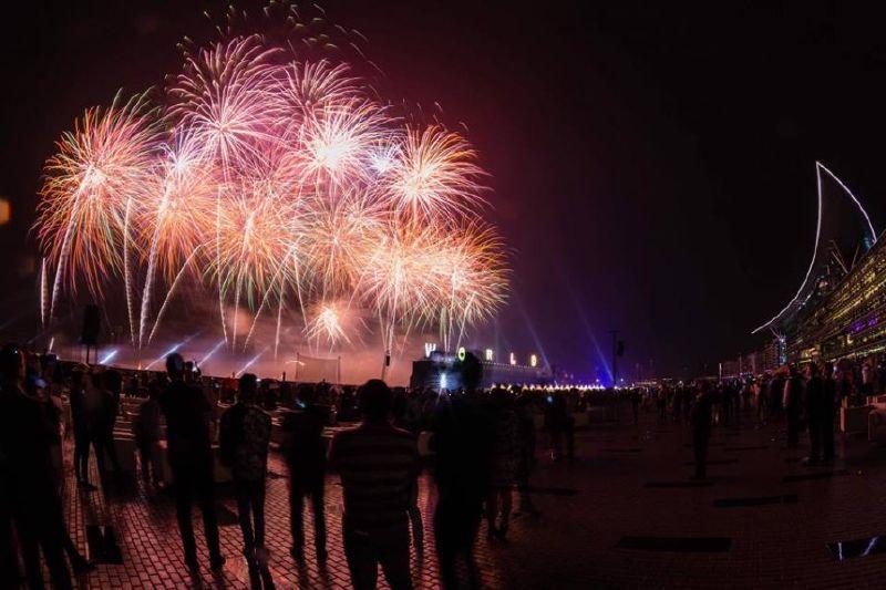 من احتفالات كأس دبي العالمي للخيول
