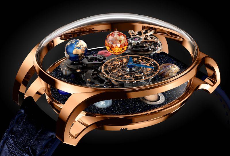 Jacob & Co. تطلق ساعتها الجديدة Astronomia Solar