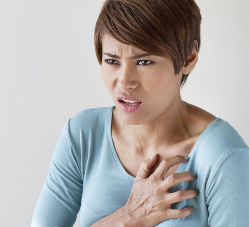 أعراض الأزمات القلبية