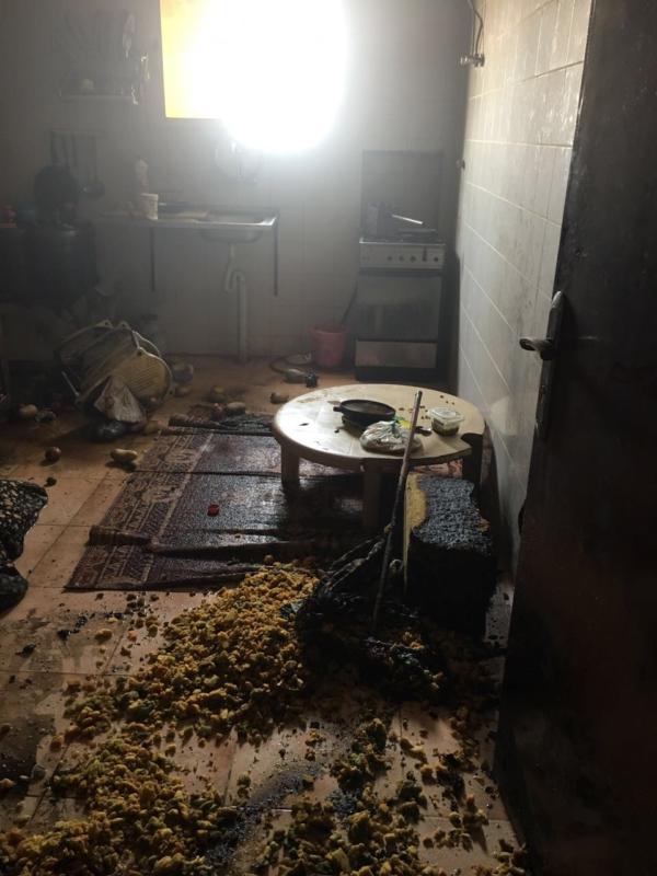 إصابة شخص بحريق منزل في عرعر