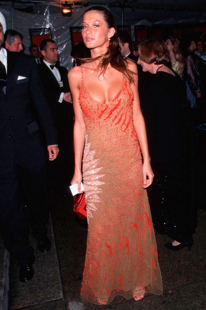 جيزيل بوندشين (Gisele Bündchen)، في عام 1999