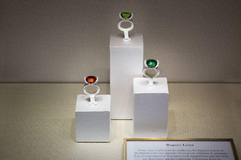 مجوهرات شوميه تقدم خاتم Aigrette الذي يّزين الإصبع بكل رقي وفخامة