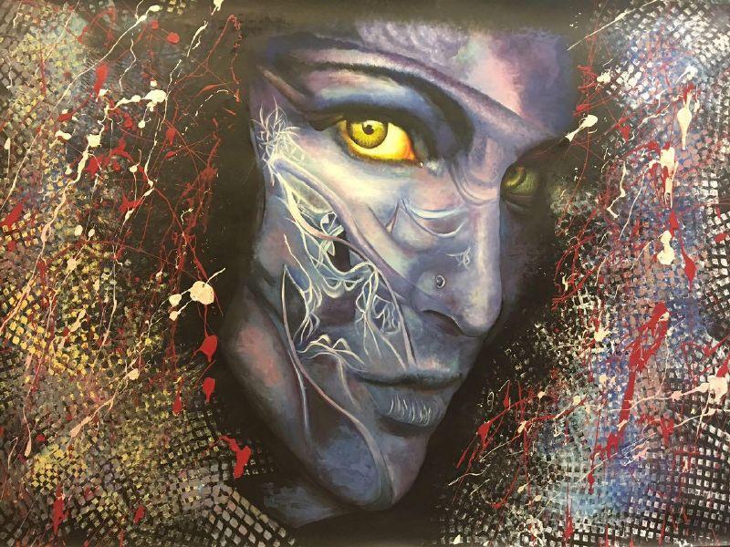 معرض الفنانة التشكيلية هبة الشريف تحت عنوان حالة عشق