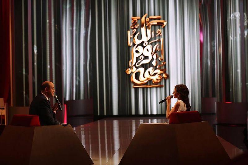 ميريام فارس خلال إطلالتها ضمن برنامج كل يوم