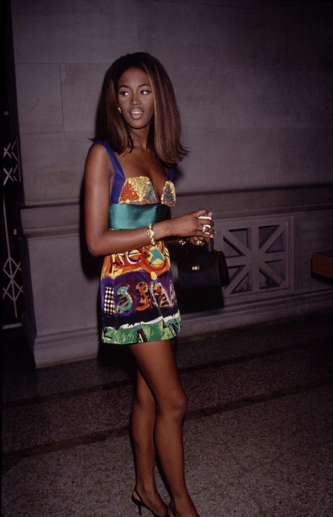 نعومي كامبل (Naomi Campbell)، 1990