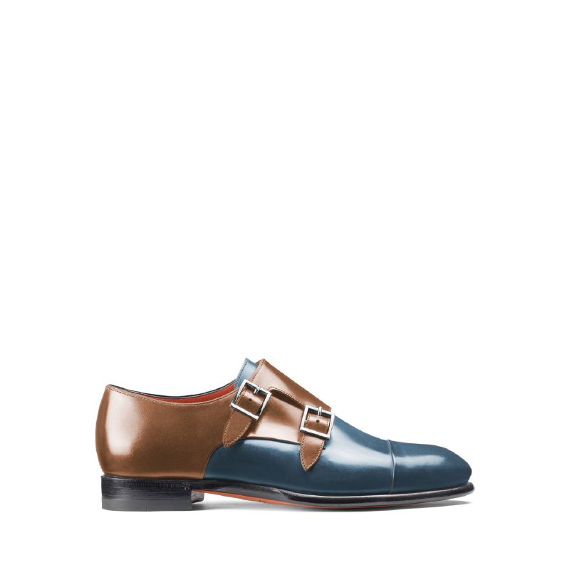 Santoni تطرح الحذاء المزوّد بإبزيمَين