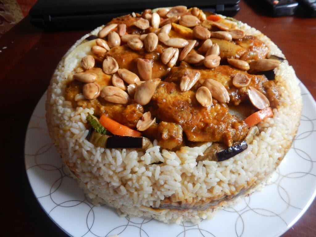 اكلات رمضان طريقة عمل مقلوبة دجاج بالخضار