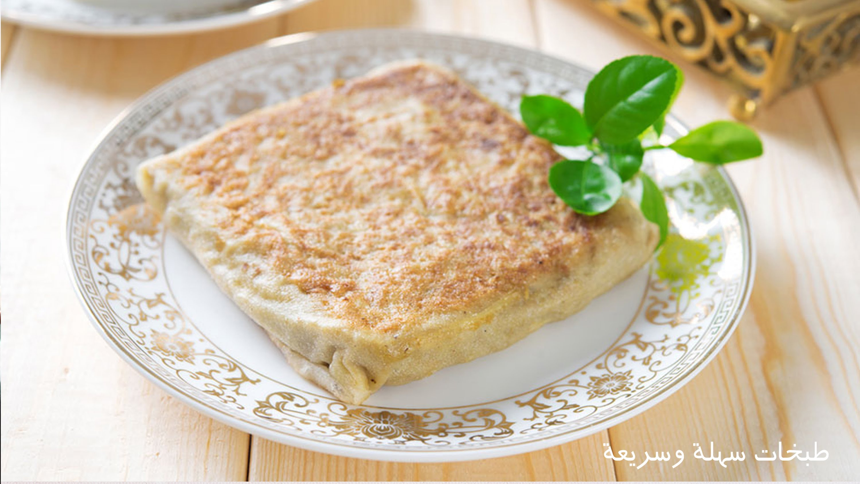 حلويات رمضان طريقة عمل المطبق الحلو بحشوات مختلفة