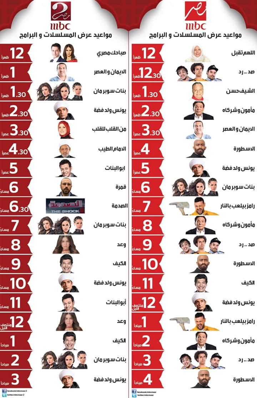 قائمة مسلسلات رمضان 2017 8