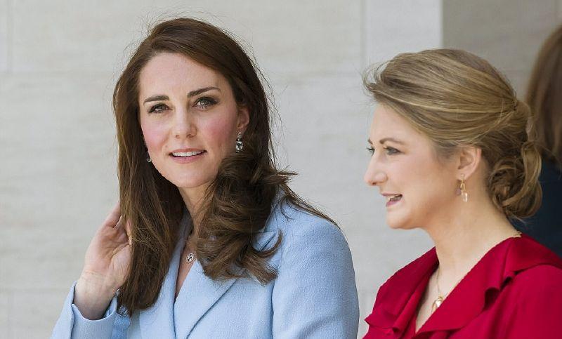 كيت ميدلتون مع الأميرة ستيفاني